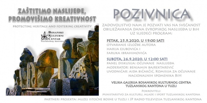 Dani evropskog naslijeđa / Izložba i panel diskusija