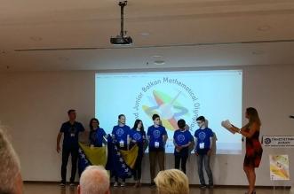 Mladi BH matematičari osvojili bronzanu medalju na Međunarodnoj matematičkoj olimpijadi 2020.