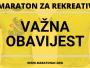 Maraton za rekreativce