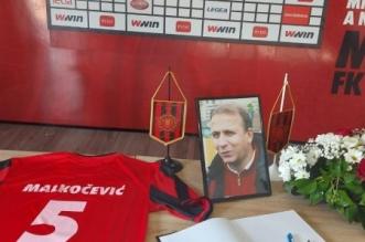 Otvorena knjiga žalosti na stadionu Tušanj: Tuzlaci se opraštaju od Malkočevića