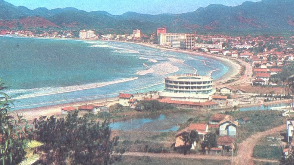 Picture of Praia Central in the 1960s